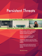 Persistent Threats A Complete Guide - 2019 Edition