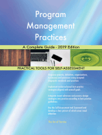 Program Management Practices A Complete Guide - 2019 Edition