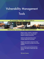 Vulnerability Management Tools A Complete Guide - 2019 Edition