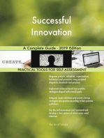 Successful Innovation A Complete Guide - 2019 Edition