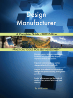 Design Manufacturer A Complete Guide - 2019 Edition