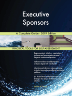 Executive Sponsors A Complete Guide - 2019 Edition