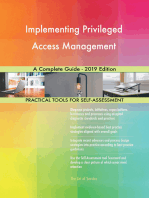 Implementing Privileged Access Management A Complete Guide - 2019 Edition