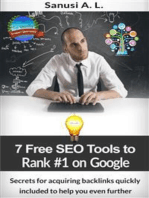 7 Free SEO Tools to Rank Number 1 on Google