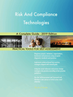 Risk And Compliance Technologies A Complete Guide - 2019 Edition