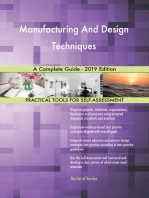 Manufacturing And Design Techniques A Complete Guide - 2019 Edition