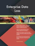 Enterprise Data Loss A Complete Guide - 2019 Edition