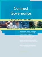 Contract Governance A Complete Guide - 2019 Edition