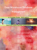 Data Warehouse Database Management A Complete Guide - 2019 Edition