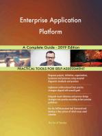 Enterprise Application Platform A Complete Guide - 2019 Edition