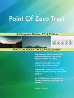 Point Of Zero Trust A Complete Guide - 2019 Edition
