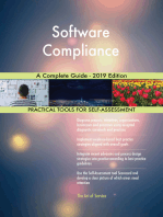 Software Compliance A Complete Guide - 2019 Edition