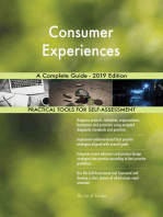 Consumer Experiences A Complete Guide - 2019 Edition