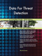 Data For Threat Detection A Complete Guide - 2019 Edition