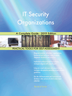 IT Security Organizations A Complete Guide - 2019 Edition