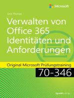 Verwalten von Office 365-Identitäten und -Anforderungen