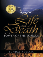 Life And Death In The Power Of The Tongue