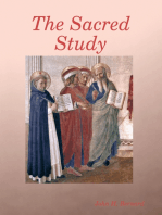 The Sacred Study