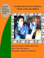La Forma Fácil de Tocar Guitarra Clásica como auto Didácta