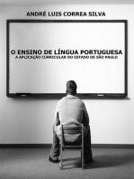 O Ensino De Língua Portuguesa