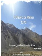 O Mistério De Mateus 12:40