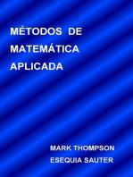 Métodos De Matemática Aplicada