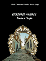 Escritores Mineiros: Poesia E Ficção