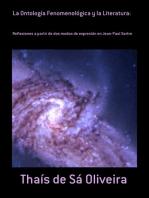 La Ontología Fenomenológica Y La Literatura: