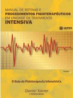 Manual De Rotinas E Procedimentos FisioterapÊuticos Em Unidade De Tratamento Intensiva