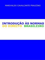 IntroduÇÃo Às Normas Do Direito Brasileiro