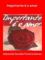Importante é O Amor