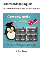 Crosswords In English