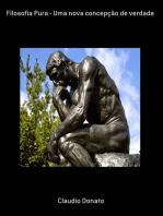 Filosofia Pura Uma Nova Concepção De Verdade
