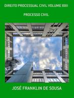 Direito Processual Civil Volume Xxii