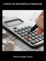 Livrete De MatemÁtica Financeira
