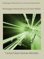 Modelagem Matemática E O Ensino Da Matemática