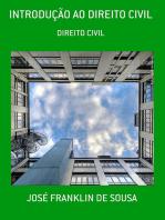 IntroduÇÃo Ao Direito Civil