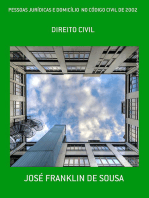 Pessoas JurÍdicas E DomicÍlio No CÓdigo Civil De 2002