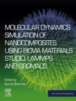 Molecular Dynamics Simulation of Nanocomposites using BIOVIA Materials Studio, Lammps and Gromacs