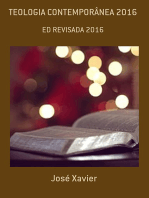 Teologia ContemporÂnea 2016