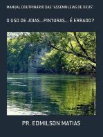 Manual DoutrinÁrio Das ''Assembleias De Deus''.