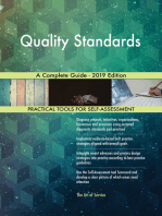 Quality Standards A Complete Guide - 2019 Edition