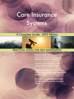 Core Insurance Systems A Complete Guide - 2019 Edition