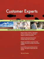 Customer Experts A Complete Guide - 2019 Edition