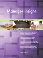 Manager Insight A Complete Guide - 2019 Edition