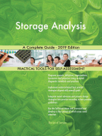 Storage Analysis A Complete Guide - 2019 Edition
