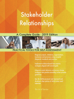 Stakeholder Relationships A Complete Guide - 2019 Edition