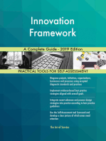 Innovation Framework A Complete Guide - 2019 Edition