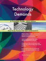 Technology Demands A Complete Guide - 2019 Edition