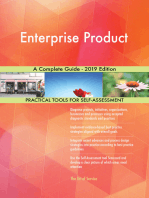 Enterprise Product A Complete Guide - 2019 Edition